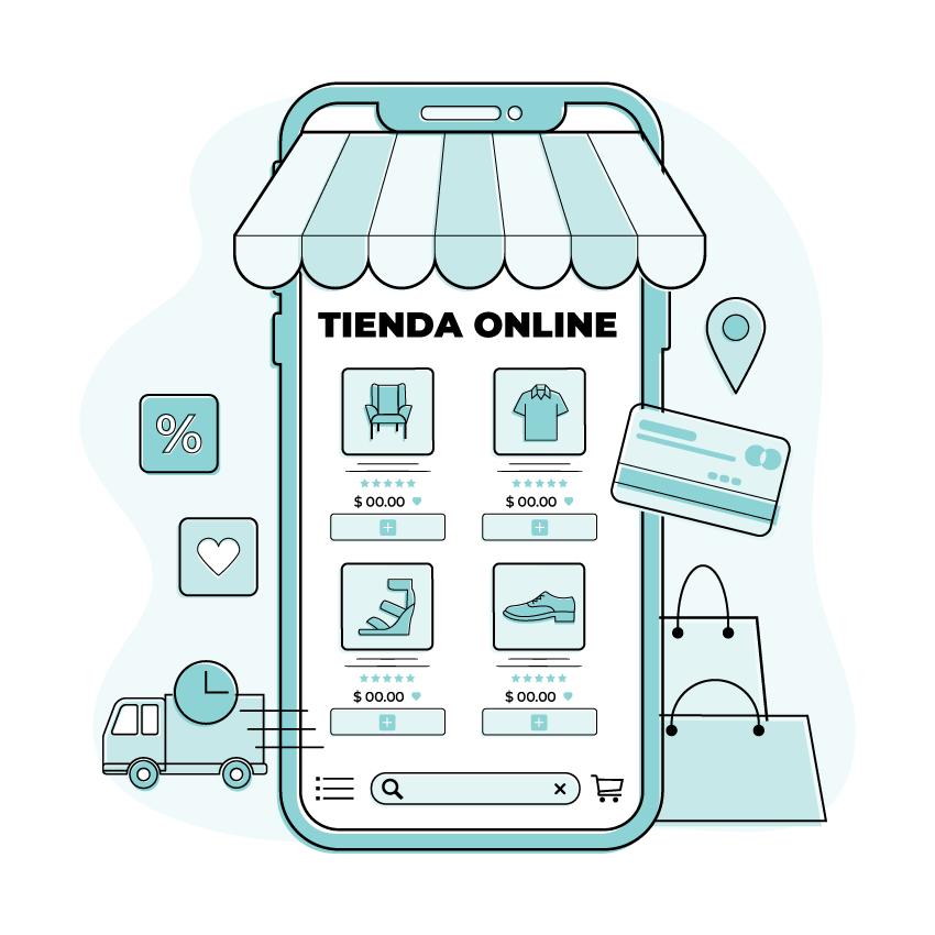 Creación de tienda en línea en Matamoros y Brownsville